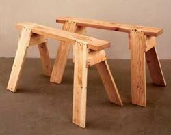 31-DP-00681+-+Back+to+Basics+Sawhorses+Downloadable+Woodworking+Plan+PDF