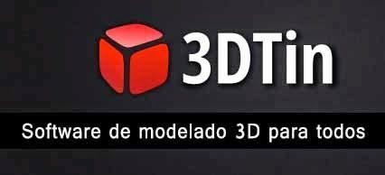 3DTIN: Software online de modelado 3D para todos ~ Juegos gratis y Software Educativo