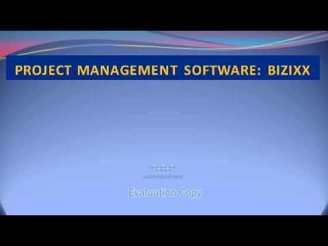 Project Management Software: BIZixx