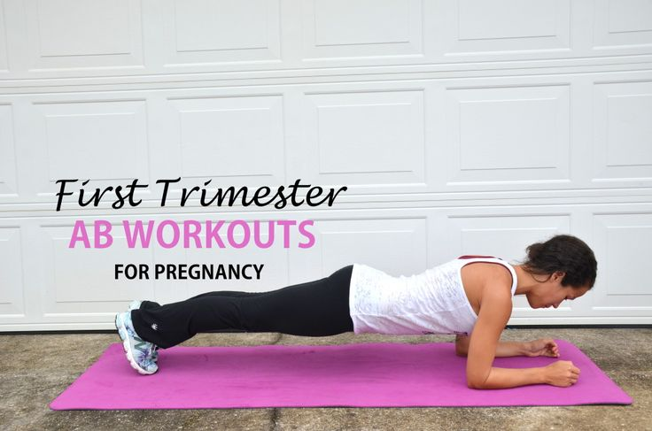 Ab exercises and workouts for pregnancy.
