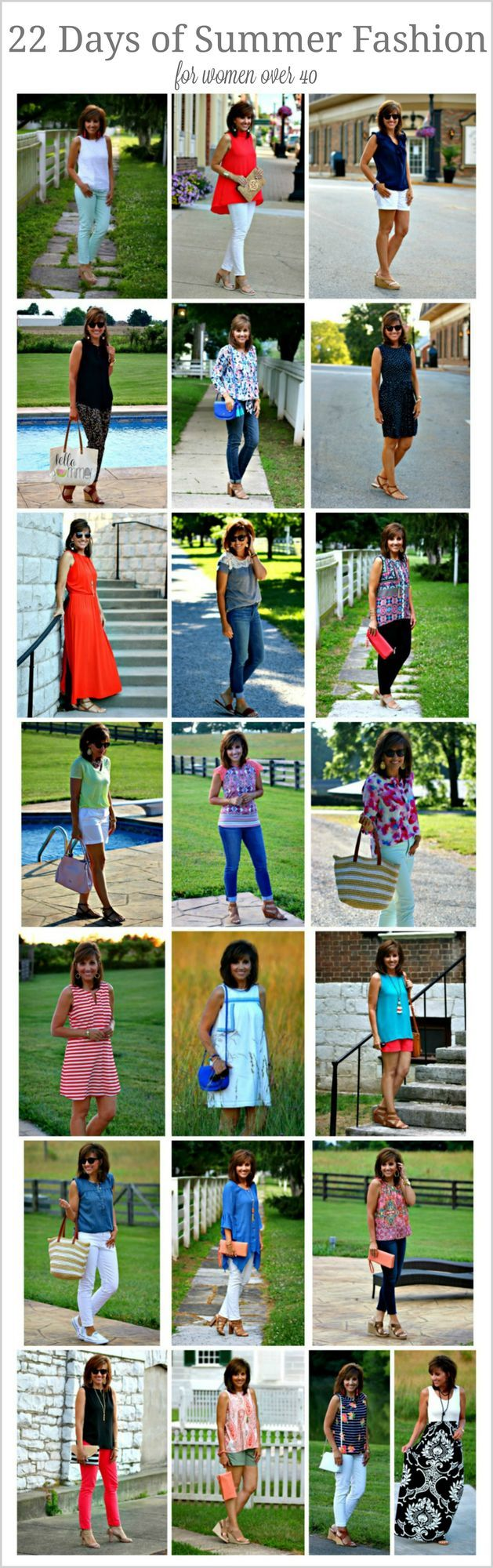22 Days of Summer Fashion Recap