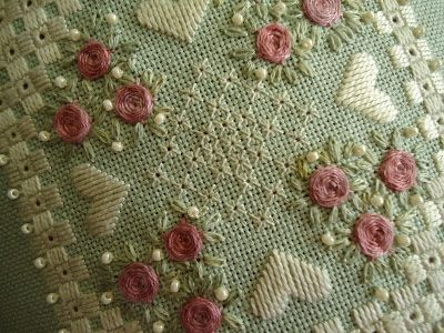 Flowers in the Garden - Lee Albrecht: My embroidery