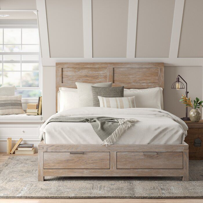 Sandford Platform Configurable Bedroom Set In 2020 Rustic