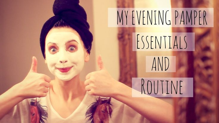 My Pamper Evening Essentials | Zoella