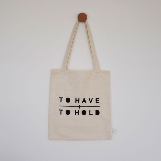 Made By Mee + Co | To Have + To Hold Tote