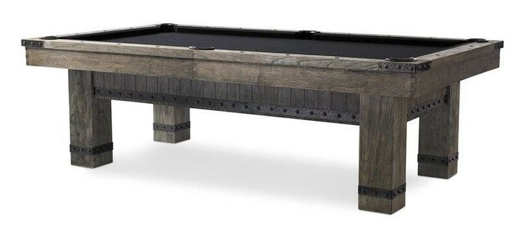 Morse 8' Pool Table-Dining- Rustic Billiards Table-Custom Rack-Accessories-Basement Bar Decor-Game of Thrones Pool Table-Weathered Billiards by sawyertwain on Etsy