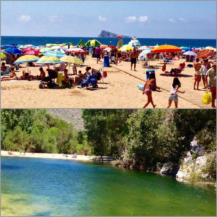 Feliz domingo Familia #Alifornia! En la Provincia de #Alicante tenemos playas a la carta; de mar o de río. ¿Cuál prefieres? 🏖🏞💚 #CostaBlanca