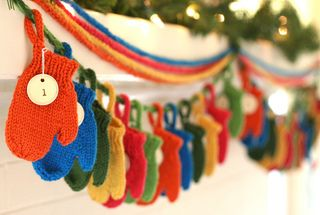 Smitten by Emily Ivey. A free pattern download and a great twist on an advent calendar.