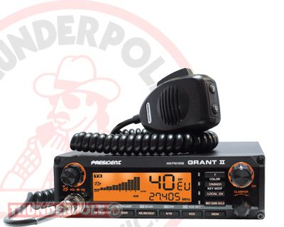 18 best c b radio images on pinterest radios ham radio and brand new multi mode mobile cb radio the president grant ii sciox Gallery
