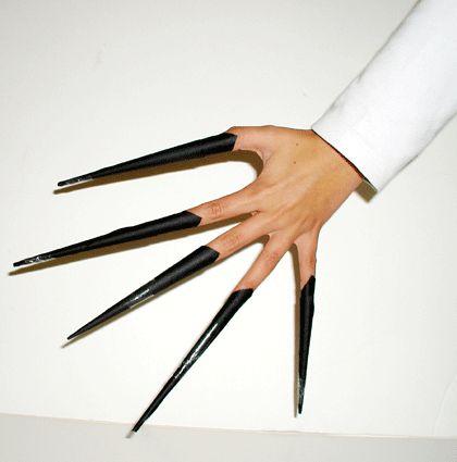 Fabriquer des ongle de sorcière pour se déguiser