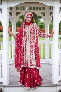 Bridal Hijab Looks