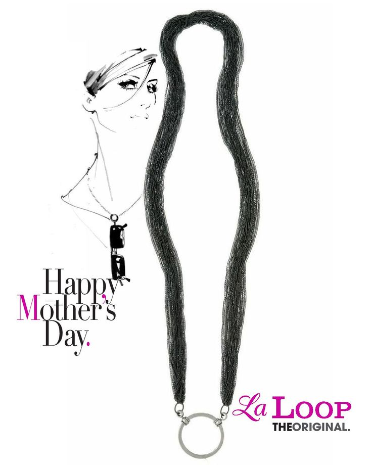Don't know what to get for Mother's Day? How about a beautiful Laloop for her glasses?