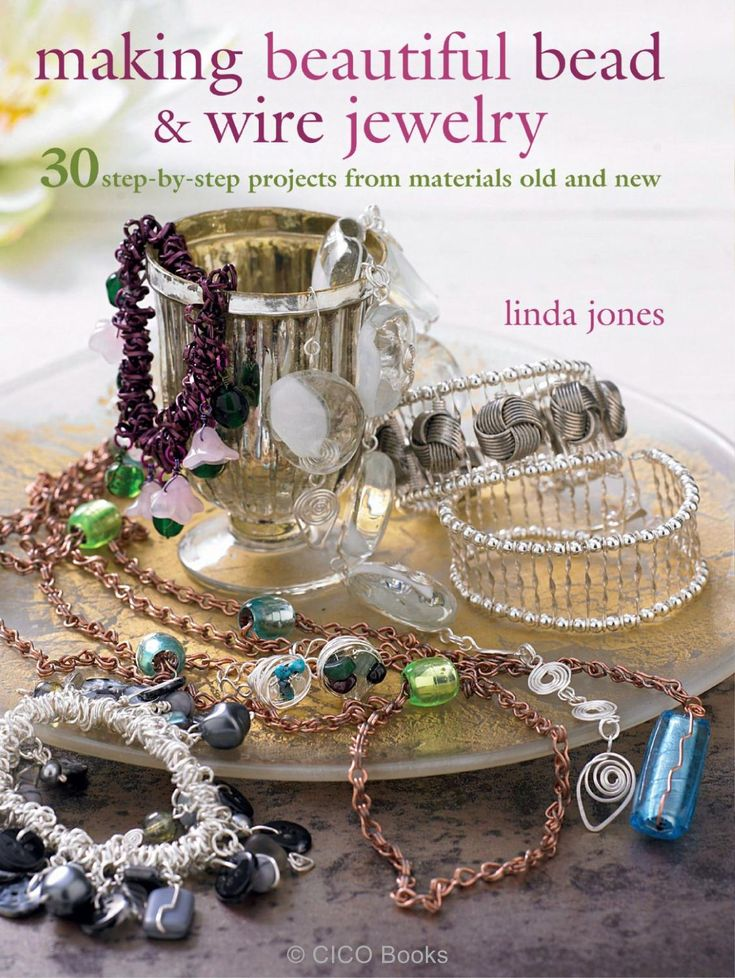 105 best magazine jewelry images on pinterest journaling file making beautiful bead and wire jewelry by linda jones fandeluxe Images