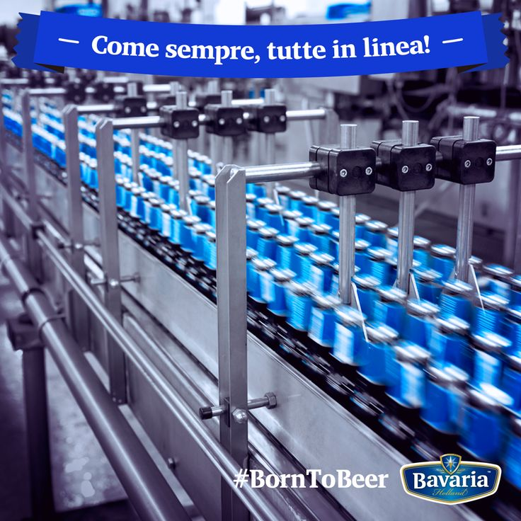 Dallo stabilimento di Lieshout, in Olanda, escono ogni anno circa 5 milioni di ettolitri di birra e dal 1970 sono esportata in 122 paesi. #borntobeer