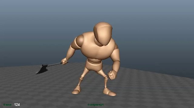 \Video Game Animation Course- Wk2 Standing to Fighting Transition.  A game transition between standing idle to fighting made during the CG society video game animation course taught by Kyle Kenworthy.