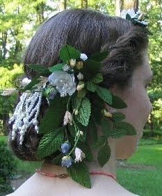 Adventures of a Costumer: 1860s evening coiffure Civil war era fashion - hair