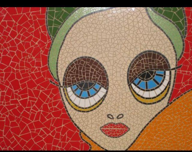Mosaic, googling.... Love it