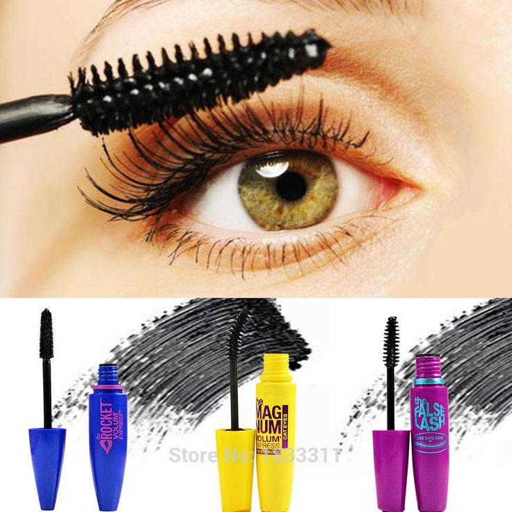 [Visit to Buy] 2017 Hot Sale Foundation Make-up Cosmetic Length Extension Long Curling Eyelash Black Mascara #Advertisement
