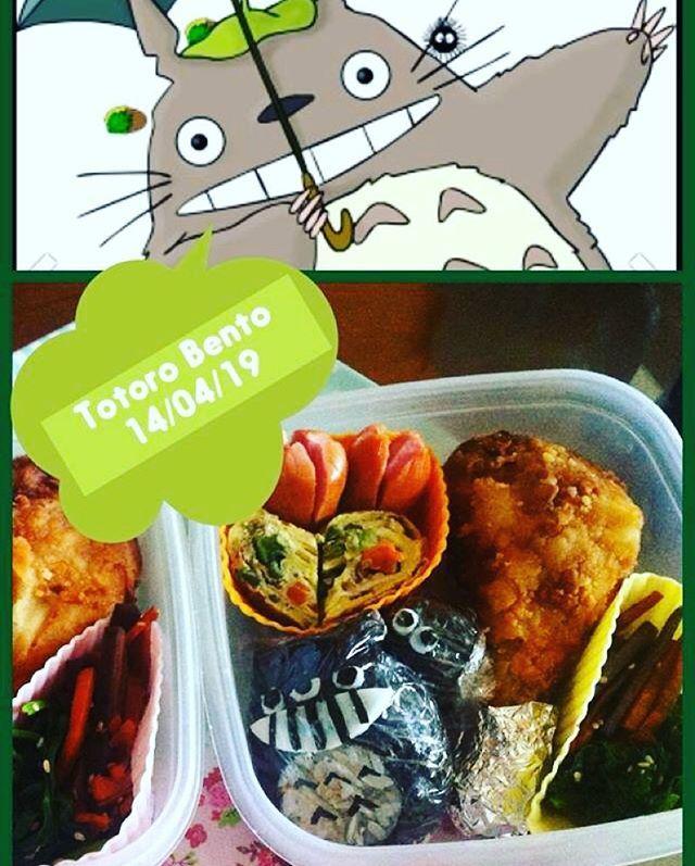 #japanesefood #obento #totoro