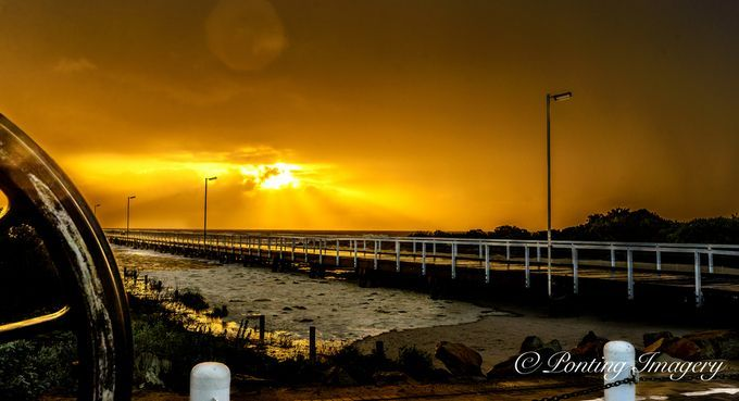 """Photo """"SunsetSemaphore-71"""" by colinponting"""