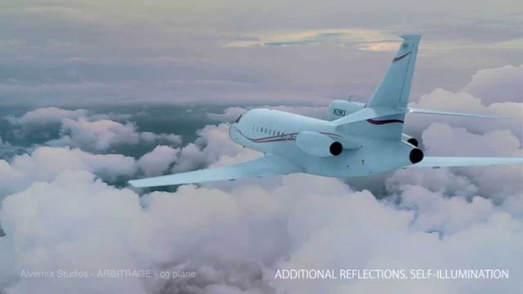 Arbitrage movie from Alvernia studios, Poland. I was compositing in Nuke mostly second and third shot from this breakdown - back and closeup of the plane. I was helping with the side shot and first fly over clouds shot too.