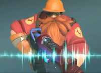 Just noticed the TF2 skin for Paladins actually has the engineer's voice actor in it (Grant Goodeve) #games #teamfortress2 #steam #tf2 #SteamNewRelease #gaming #Valve