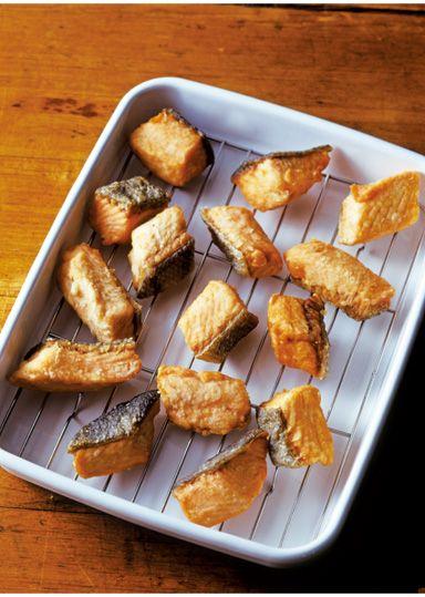サーモンのから揚げ のレシピ・作り方 │ABCクッキングスタジオのレシピ | 料理教室・スクールならABCクッキングスタジオ