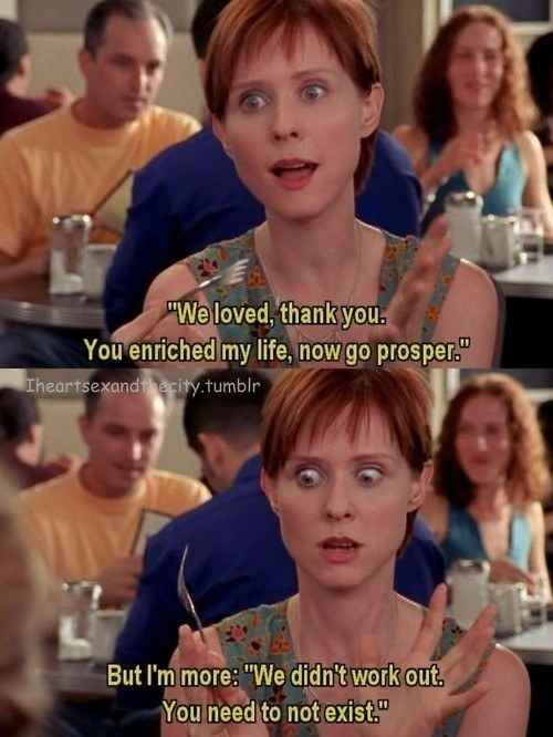 Sex And The City Quote About Coloring : 17 best miranda hobbes images on pinterest