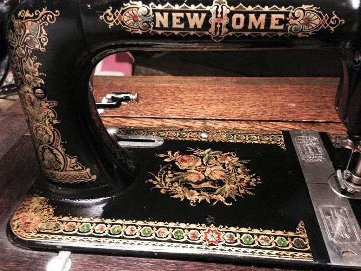 new home antique sewing machine value