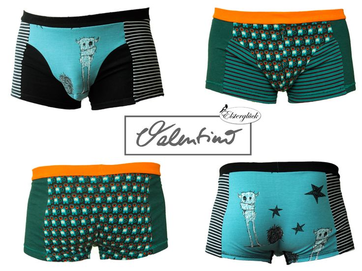 Mens Fashion – eBook VALENTINO men boxer brief sewing pattern – a unique product by Elsterglueck on DaWanda