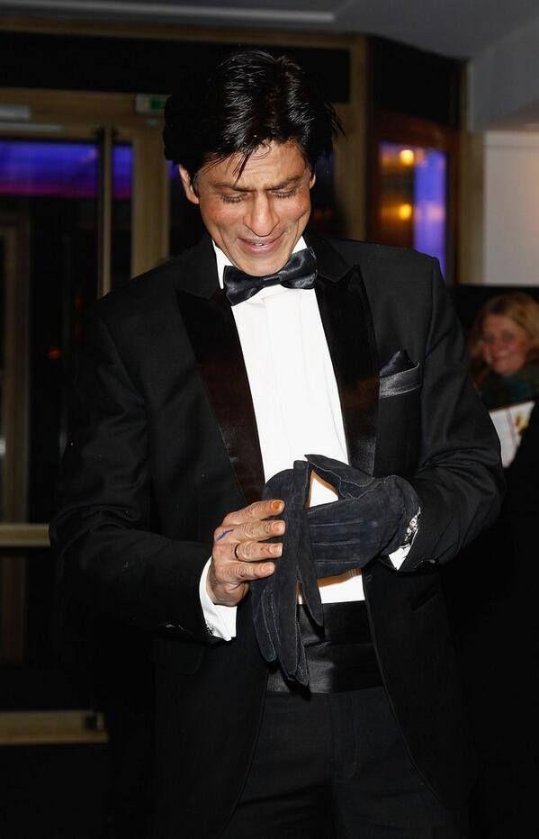 SRK, precious smile