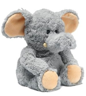 Cozy Plush Jumbo Elephant Microwavable Soft Toys Warm in a Microwave for Two Minutes to Release the Wonderfully Soothing Lavender Aroma  Order at http://amzn.com/dp/B002WILK7A/?tag=trendjogja-20