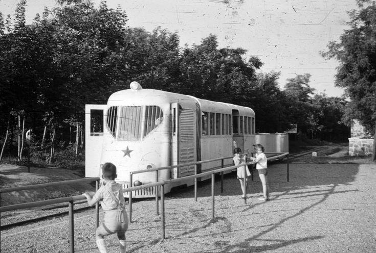 (Sztálinváros), az Úttörővasút Szabolcs motorkocsija (Bamot 802)