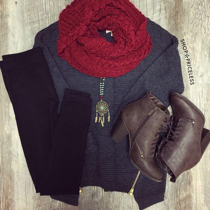 Faith Leggings - Black #Fall #Fashion #leggings #ootd #ShopPriceless