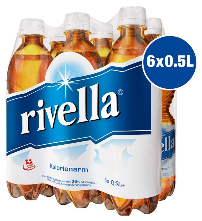 Rivella... tastes good and much healthier then your popular sodas