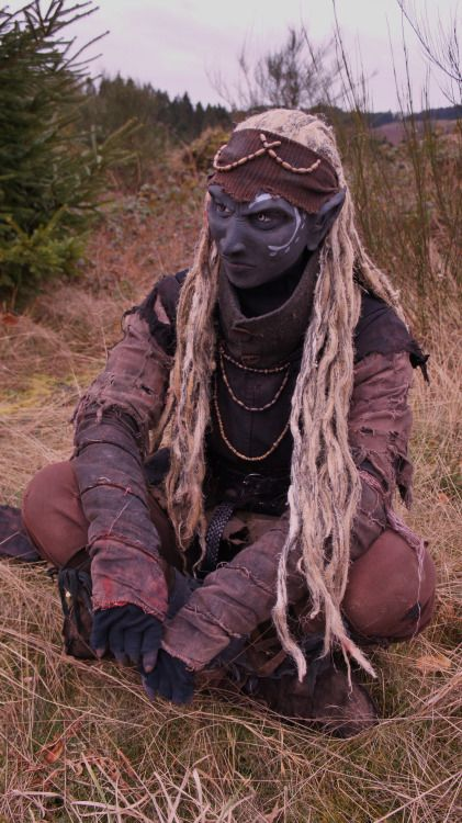 "xxxabigailxxx:  Me as ""Nâzga"" (LARP)I made this costume by myselfLARP 2012 - 2014/15/16 …., Germany"