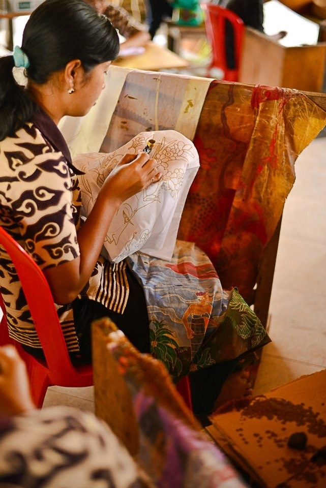 The Making of batik