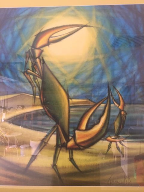 PAUL GOMBEAUD SIGNED FRAMED LARGE PRINT OF THE CRAB BALLET | Art | Gumtree Australia Gold Coast South - Robina | 1146374600