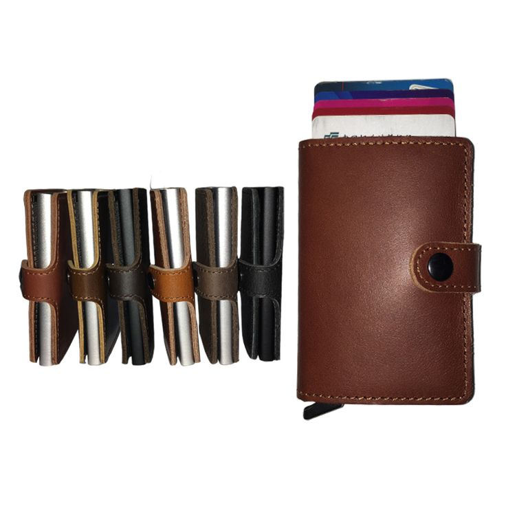 Find More Wallets Information about Top quality geniune leather cowhide leather men mini wallet slim wallet antitheft RFID wallet pop up cards holder,High Quality leather cowhide,China slim wallet Suppliers, Cheap mens mini wallet from RFID Wallet Store on Aliexpress.com