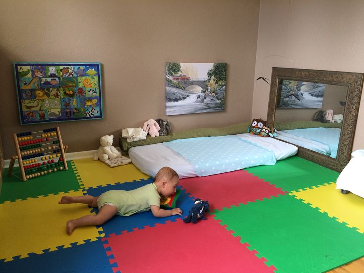 montessori floor bed for babies that hate cribs