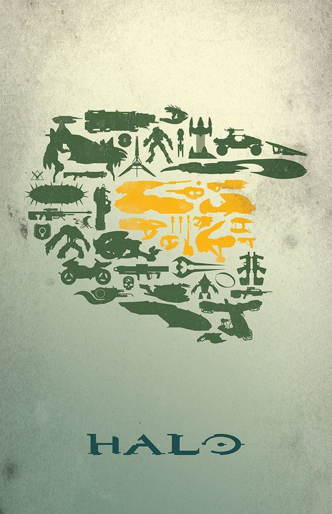 Halo Poster - Created by Dylan West