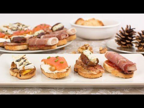 4 Aperitivos Para Navidad Fáciles y Deliciosos - YouTube