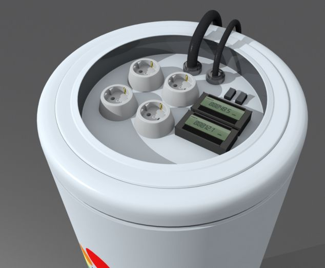 Keshe Foundation Power Supply - Magrav Plasma Power Production Unit - Home Version - a - October 2015