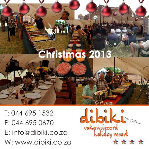 Celebrating Christmas with a delicious lunch at Dibiki Holiday Resort - thank you to everyone who joined us!