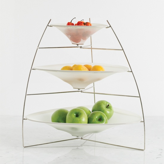 three tier raytray bowls by chilewich spark living online boutique for unique home decor. Black Bedroom Furniture Sets. Home Design Ideas