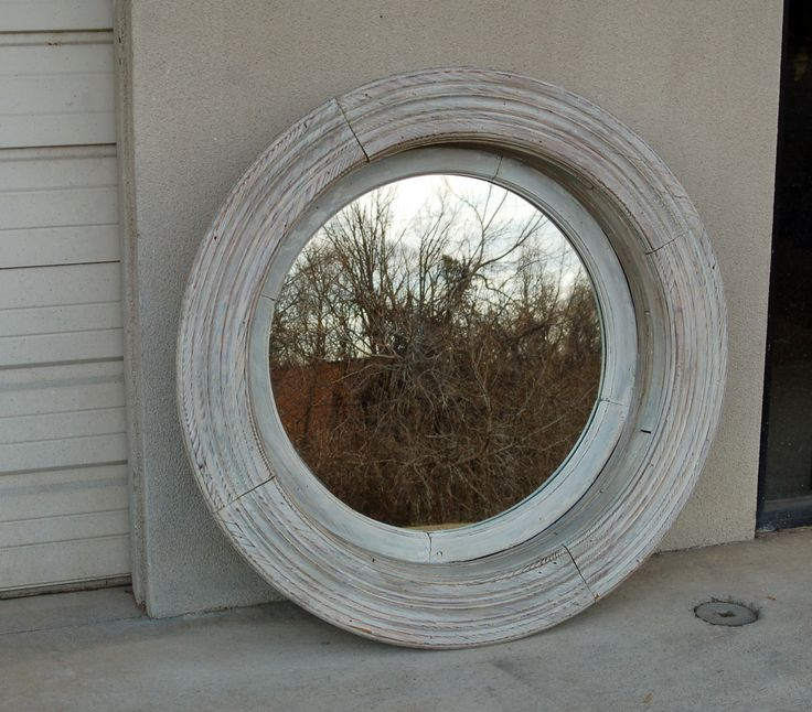 Antique Round Window Frame With Mirror Now At Repeat