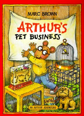 Love Marc Brown's Arthur seriesAdventure Series, Business Arthur, Arthur Series, Marc Brown, Pets Business, Arthur Adventure, Arthur Pets, Children Book, Arthur Determination
