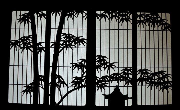 Japanese silhouette