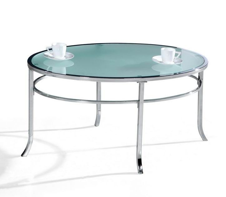 best glass oval coffee table