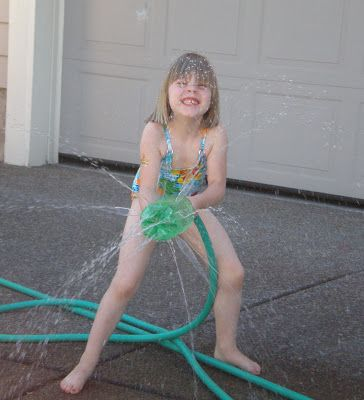 Homemade Sprinkler - Making Memories With Your Kids